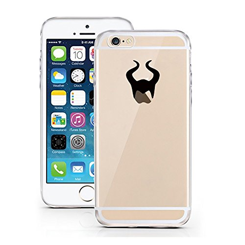 """licaso® iPhone TPU Hülle Disney Case Tinkerbell Butterfly Elfe Märchen transparent klare Schutzhülle Disney Hülle iphone6 Tasche Case (iPhone 6 6S 4.7"""", Tinkerbell Butterfly) Maleficent"""