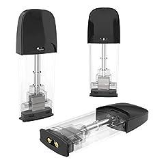 Idea Regalo - [3 Pezzi] Alsterplus 1,5 ohm Elettroniche Sigarette Starter Kit, Bombole Evaporatore - No liquido, senza nicotina - Facile da usare