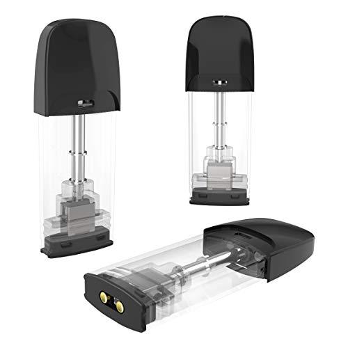 [3 Pezzi] Alsterplus 1 * ohm Elettroniche Sigarette Starter Kit, Bombole Evaporatore - No liquido, senza nicotina - Facile da usare