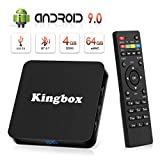 Best Android TV Box - Android 9.0 TV Box [4GB RAM+64GB ROM], Kingbox Review
