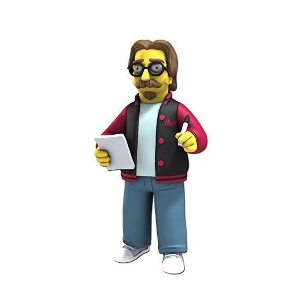 """NECA Simpsons 25th Anniversary 5"""" Series 5 Matt Groening Action Figure by NECA 1"""
