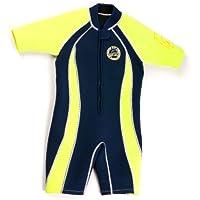 Surfit Boy's Shorty - Traje para niño, tamaño 12-24 meses, color azul/azul celeste