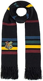 Cinereplicas - Harry Potter - Bufanda - Ultra Suave - Licencia Oficial - Hogwarts - 190 cm - Negro con Rayas R