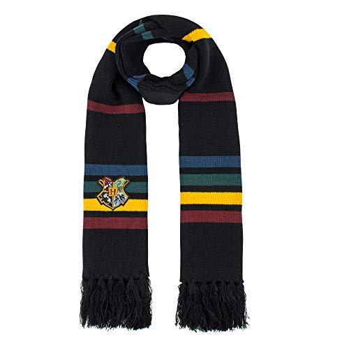 Bufanda Harry Potter Neville Longbottom 190 cm logo escuela Hogwarts