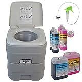 BB Sport Toilette Portatile Chimico FRESH DELUXE Campeggio WC, Campingtoiletten Varianten:WC