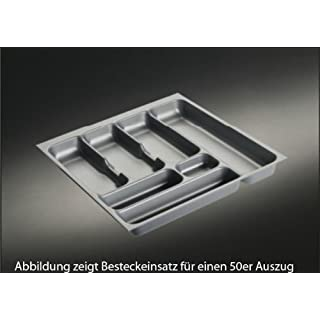 Storex 803.0.011 Cutlery Tray 4 for a Cabinet with a Width of 50 cm / Suitable for Alno / Blum Pull-Outs