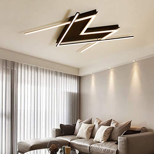 Lámpara techo LED moderna Carta diseño creativo
