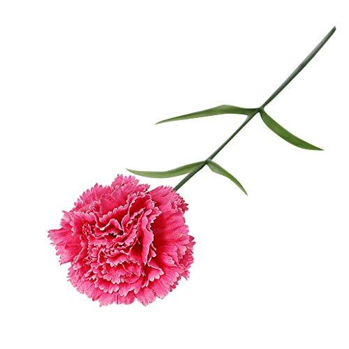 SuperSU Wohnaccessoires & Deko Nelke Kunstblumen Blumenstrauß Kunstblumen Künstliche Seide,Braut Hochzeit Bouquet Garten Dekor Blumenstrauß Gefälschte Blumen
