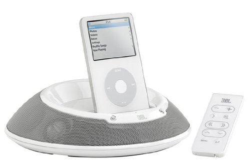 JBL on Stage III Lautsprecher-System für Apple iPod weiß 6w Ipod-docking