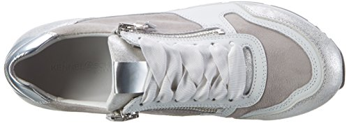 Kennel und Schmenger Schuhmanufaktur Rock, Sneaker Basse Donna Weiß (white/bianco/light Sohle Grau)