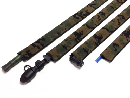 MARPaT Woodland Digital Sac d'hydratation Drink Tube DE COUVERCLE -