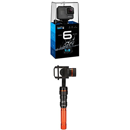 GoPro HERO6 Black Kamera+Rollei Pro Actioncam Gimbal