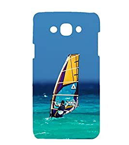 printtech Boat Sea Nature Back Case Cover for Samsung Galaxy Grand i9080 / :Samsung Galaxy Grand i9082