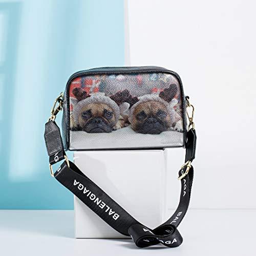 Kostüm Tragen Weihnachten Hunde - Hund tragen Weihnachten Kostüme Handtasche für Kinder Handtaschen für Kinder mit verstellbaren langen Riemen Mode Tasche für Männer Mode Urlaub Tasche Mode Tasche Frauen