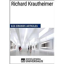Richard Krautheimer: Les Grands Articles d'Universalis