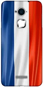 Snoogg French Flag 2983 Designer Protective Back Case Cover For Coolpad Note 3 (White, 16GB)