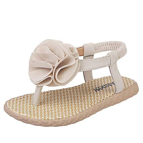 Xthuyle summer fashion simple casual kinder infant kinder baby mädchen blume strand prinzessin schuhe sandalen babyschuhe kinder und mutter freizeit flip flop slipper slides -