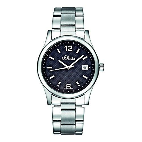 s.Oliver Herren-Armbanduhr Analog Quarz SO-15030-MQR