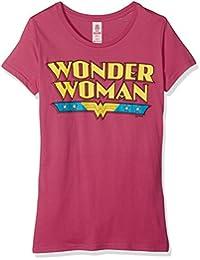 Logoshirt Women's DC-Wonder Woman-Logo Shirt