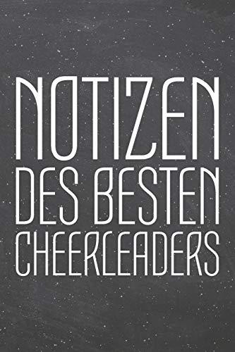 heerleaders: Cheerleader Punktraster Notizbuch, Notizheft oder Schreibheft | 110  Seiten | Büro Equipment & Zubehör | Lustiges Geschenk zu Weihnachten oder Geburtstag ()