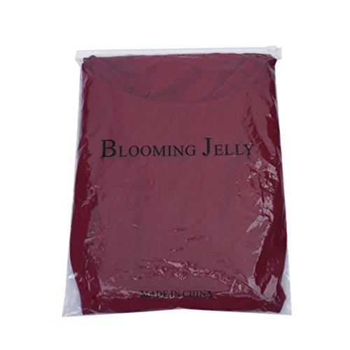Blooming Jelly Donna Vestito Vintage Cocktail 1950s Swing Festa Vestito Rosso