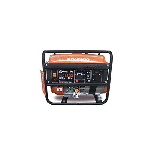 Daewoo GD1200 - Generador eléctrico gasolina 98 cc,1000