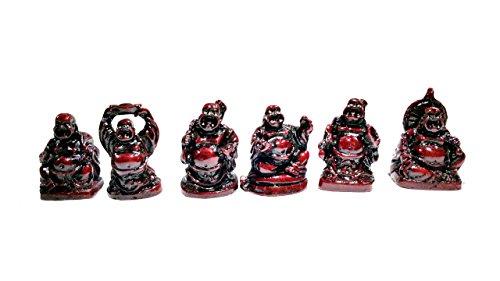 Shubhh Laughing Buddha Gift Set, Glossy - Small