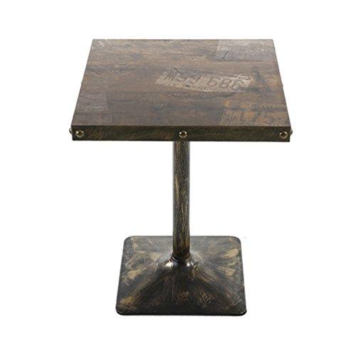 Tables LXYFMS Rétro Personnalisé Table Thé Boutique Boissons