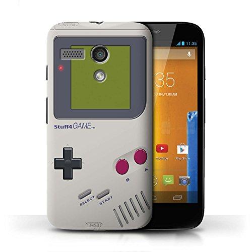 Stuff4 Hülle / Case für Motorola MOTO G (2013) / Nintendo Game Boy Muster / Spielkonsolen Kollektion - Gameboy Motorola Moto Case G