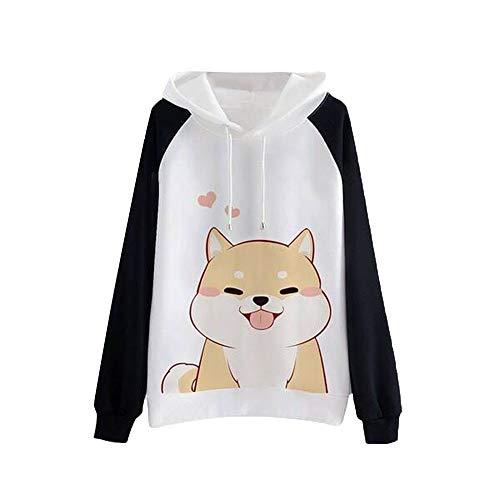 TWIFER 2019 Winter Lässig Damen Hoodie Langarm Pullover Sweatshirt Jumper -