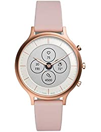 Fossil Charter Hybrid Hr Smartwatch Analog-Digital White Dial Women's Watch-FTW7013