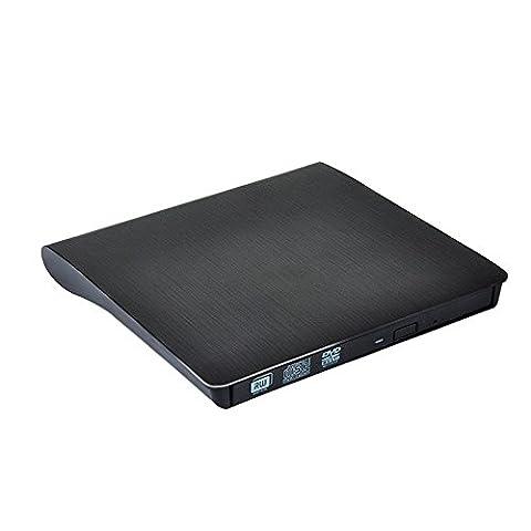 Lecteur DVD externe USB 3.0, shonco fente externe USB 3.0