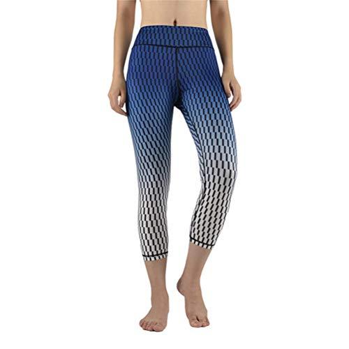 Feidaeu Woman Sport Pants Tights? Elastische, Bequeme, atmungsaktive, schlanke Auswahl an bedruckten Schnittmusterhosen in verschiedenen Größen und Größen -
