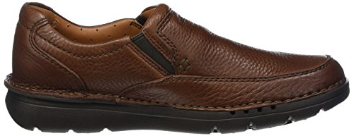 Clarks Herren Unnature Easy Slipper Braun (pelle Marrone)