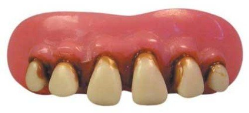 Billy Bob Caveman Falsche Zähne für Kostüme und Outfits (Lustige College Party Kostüme)