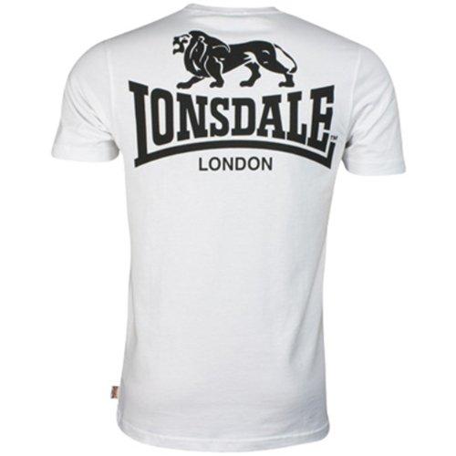 Lonsdale Aktion–Shirt–Recht–Herren Weiß