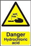 Spectrum Industrie 2.179,3cm Gefahr Salzsäure