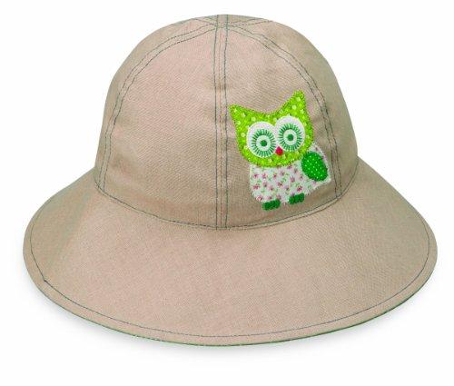Wallaroo Hats Mädchen Hut Sophia, Beige Eule, One Size, SOP-14-TA/OW