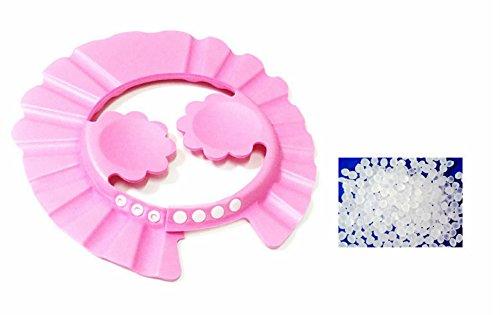 ZCSMg Práctico Oreja Suave Capucha para Bebé Niños Baño (Rosa)