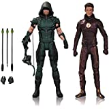 DC TV Arrow and Flash Action Figure 2 Pack