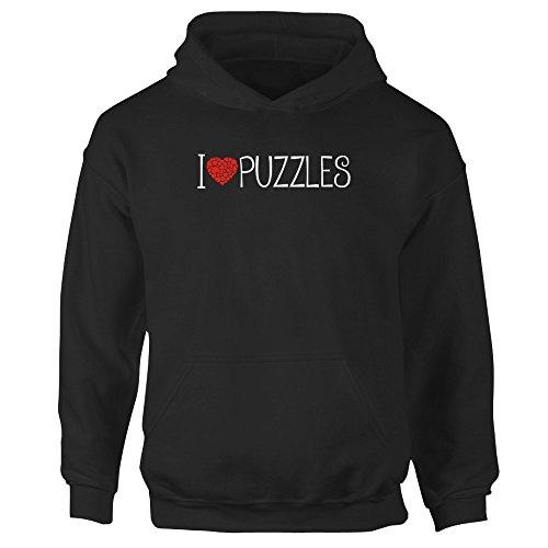 Idakoos love Puzzles cool style - Ocio - Sudadera con capucha para niña