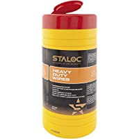 Staloc Cleaning Towels Cleaning Cloths in Dispenser Bucket for Use in The car, Home, Workshop, Ideal for DIY, Pack of 80, 104409055.HD preiswert