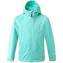Eono Essentials Junior Waterproof Jacket with Fixed Hood