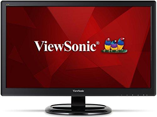 ViewSonic VA2465SMH 24-inch Full HD LED Monitor (1920x1080 95% sRGB VGA HDMI Speakers) - Black