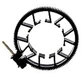 JUNERAIN VELEDGE 0.8 Mods Follow Focus Gear Cintura ad anello per obiettivo fotocamera - Best Reviews Guide