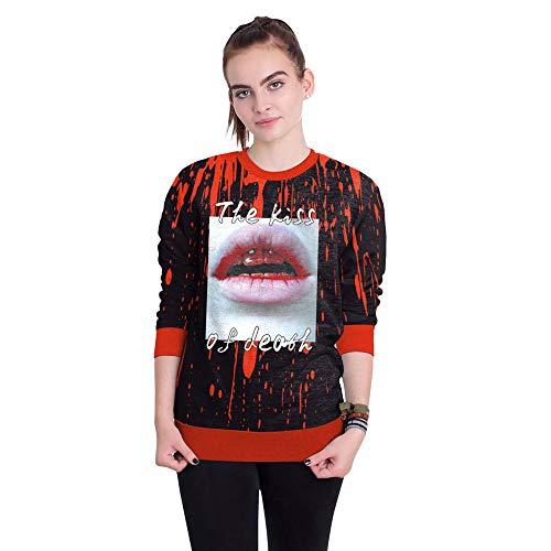 New worlds Halloween Weihnachtsfeier Rollenspiel Adult Cosplay Kleid Arbeiten Sie Pullover Damen Rundhals Außenjacke, wie Gezeigt, L