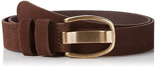 ESPRIT 096EA1S005, Cintura Donna, Marrone (DARK BROWN), Medium (Taglia Produttore: 85)
