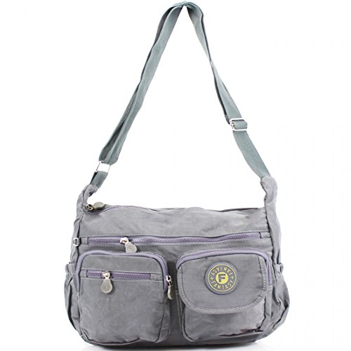 YourDezire , Borsa Messenger  donna Grey