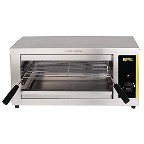 Buffalo Electric Salamander Grill 302X643X386mm Stainless Steel Barbecue