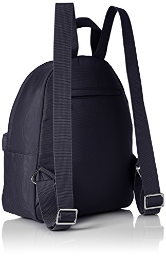 JOOP! Damen Nylon Naviga Nika Backpack Mvz Rucksackhandtaschen, 27 x 33 x 12 cm Blau (402)